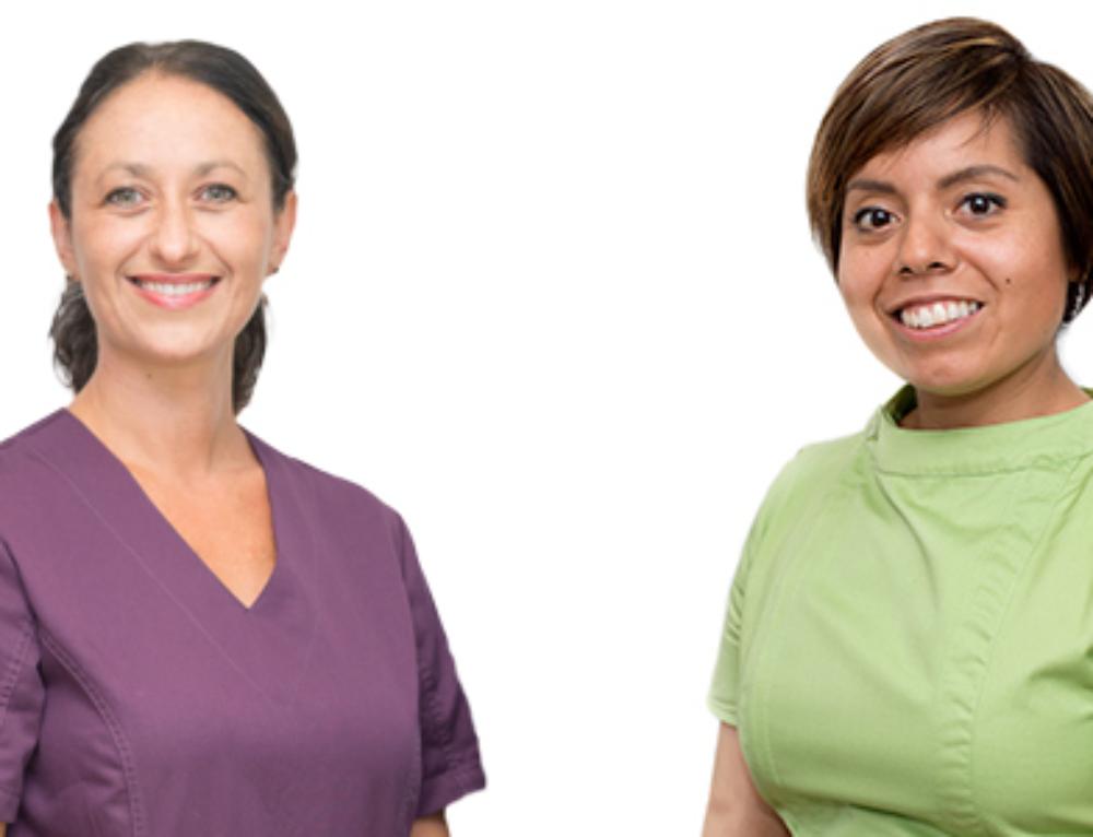 Välkomna som fullvärdiga medlemmar, Angela och Maya!