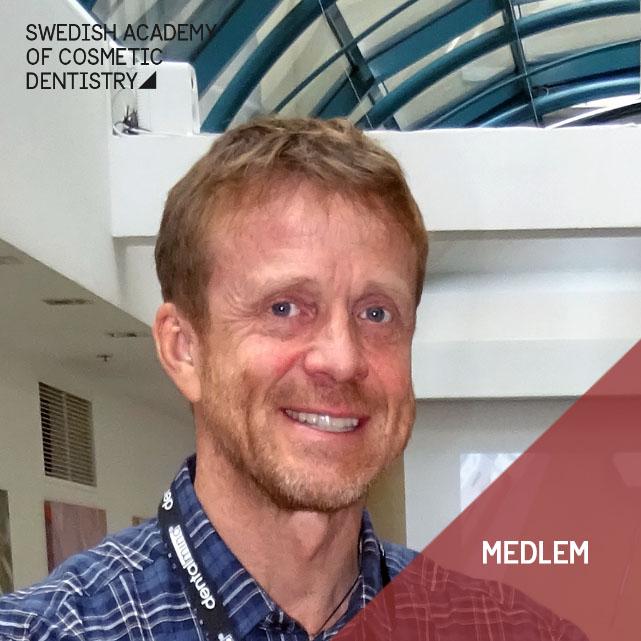 Per Ekblom tandtekniker. Medlem i SACD
